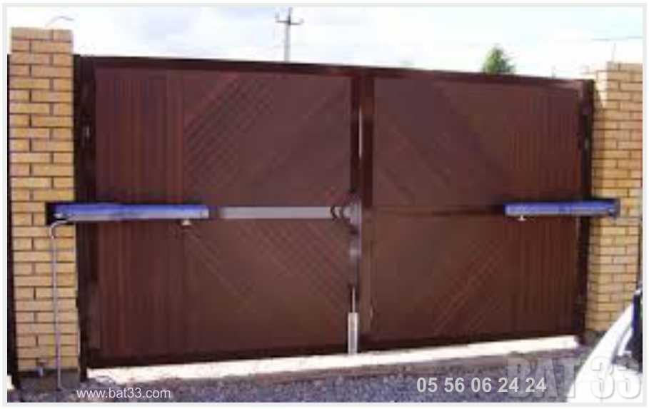 Portail electrique best portail cremaillere with portail - Portail et porte de garage automatique ...