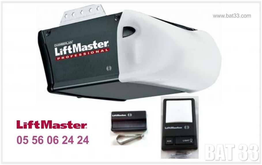 Liftmaster bordeaux d pannage et r glage carte - Moteur porte de garage chamberlain ...